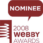 Webby Award Nominee 2008